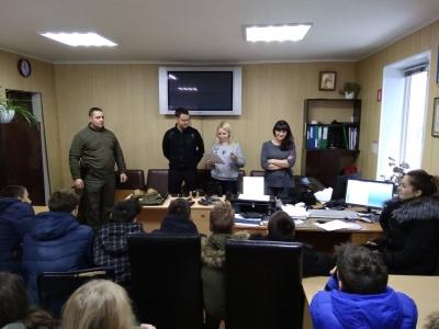 У Вінницькому рибоохоронному патрулі проведено зустріч із школярами