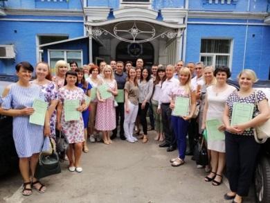 Працівники Вінницького рибоохоронного патруля взяли участь у короткостроковому семінарі для державних службовців