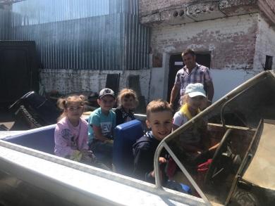Вінницький рибоохоронний патруль черговий раз з радістю зустрів маленьких дошкільнят у себе в гостях!
