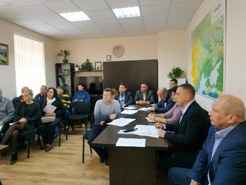 Представники Вінницького рибпатруля взяли участь у засіданні Міжвідомчої комісії по узгодженню режимів роботи основних водосховищ басейну р. Південний Буг в умовах низької водності 2019 року